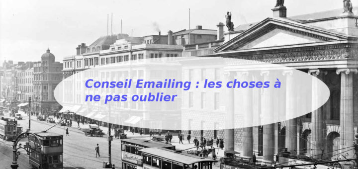 conseil emailing