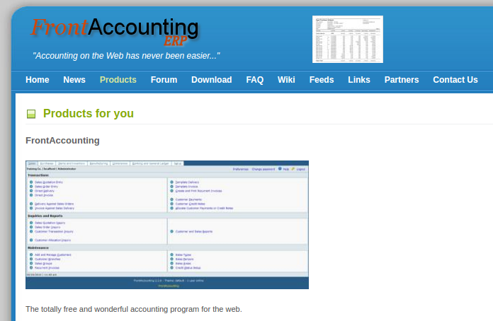 capture front accounting